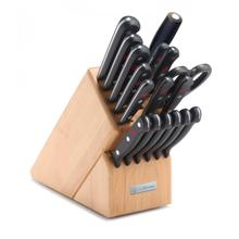 Wusthof Gourmet Knife Block Set, 18-Piece