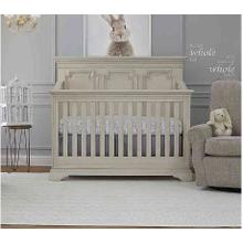 Amherst Lifetime Crib - Antique White