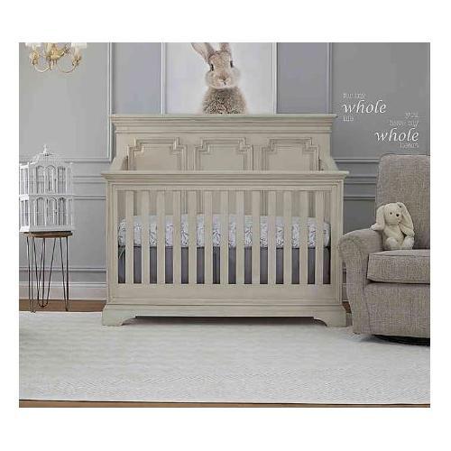 Amherst Lifetime Crib - Antique White