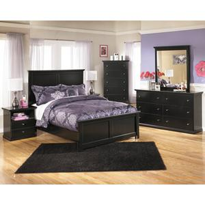 Maribel Qn Bed, Dresser, Mirror and Nightstand