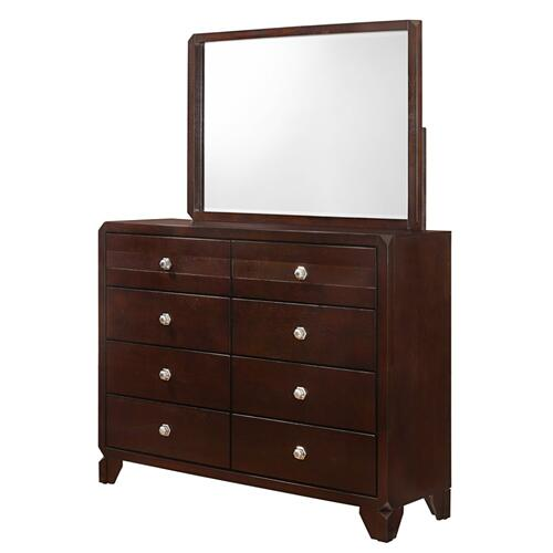 Crown Mark - Tamblin Dresser and Mirror Set