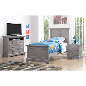 Tamarack Gray 4-Drawer TV Chest
