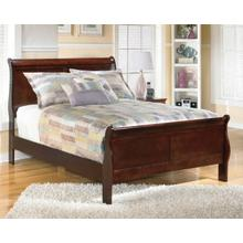 Alisdaire Cherry Sleigh Bed Full Size