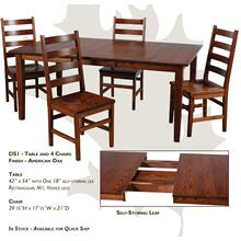 Promotional Group - Table and Chairs