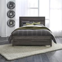 Tanners Creek - Queen Panel Bed in Greystone Finish