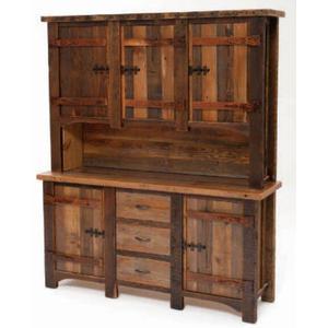 Heritage Shady Bay 2 Piece Hutch w/ Wood Doors