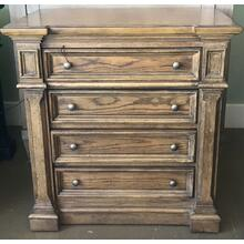 Brown 4 drawer Dresser