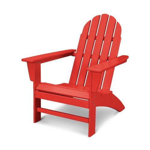 Vineyard Adirondack Chair in Vintage Sunset Red