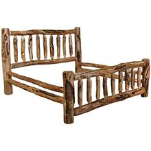 Corral King Bed Gnarly Log