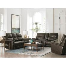 Brookville Motion Sofa w/ Power in Truffle