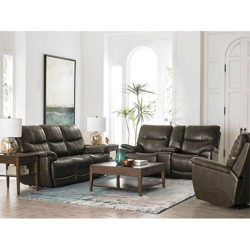 Brookville Motion Sofa w/ Power in Truffle