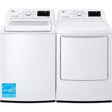 LG 4.5-cu ft High Efficiency Top-Load Washer & 7.3-cu ft Electric Dryer Set