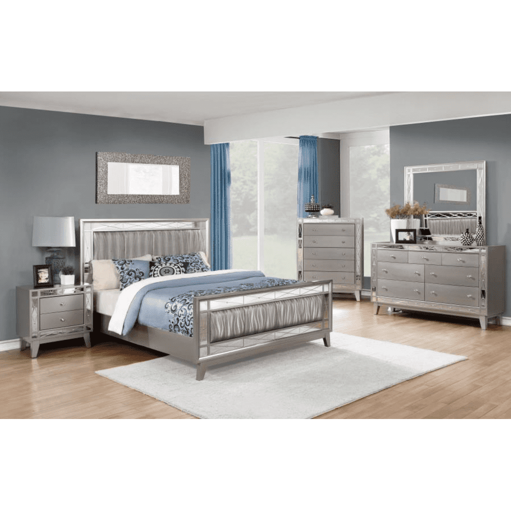 Leighton 4Pc Cal King Bed Set