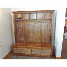 Barn Board Entry Bench