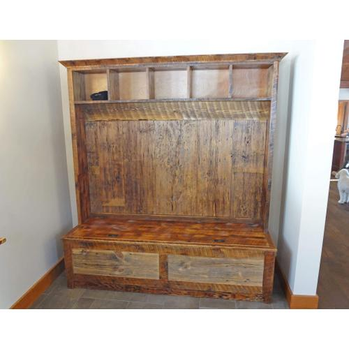 Cozy Creations Collection - Barn Board Entry Bench