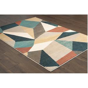 "Oriental Weavers Usa, Inc. - 5'3"" X 7'6"" CARSON AREA RUG    (9661A,91639)"