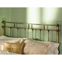 View Product - Wesley Allen Queen size Remington Headboard Cottage White floor sample as is