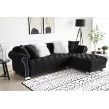 Royal Black Sectional