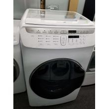 See Details - Samsung Flex Wash Smart Washer WV55M9600AW (FLOOR MODEL)