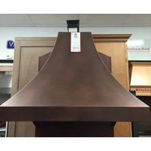 Custom Copper Canopy Hood