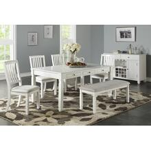 6 piece antique cottage table set