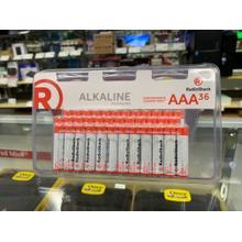 Alkaline Battery AAA 36-Pack