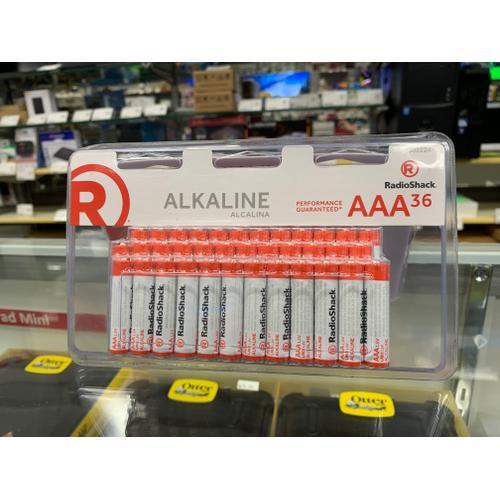 RadioShack - Alkaline Battery AAA 36-Pack