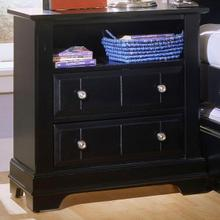 Cottage Collection Black Nightstand