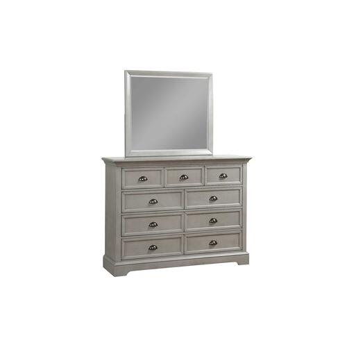 Tamarack Grey 9 Drawer Dresser