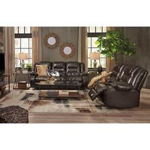 Vacherie- Chocolate Reclining Sofa and Loveseat