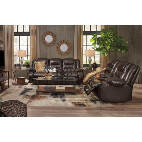 Vacherie- Chocolate Reclining Sofa and Loveseat