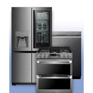 LG SIGNATURE - Receive up to $2,500 when you purchase up to (4) eligible LG Signature Kitchen Appliances. See 3-Pc Example.