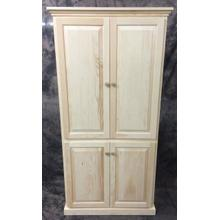 See Details - Maine Made 72X36 Pantry 36W X 72H X 15.5D Pine Unfinished
