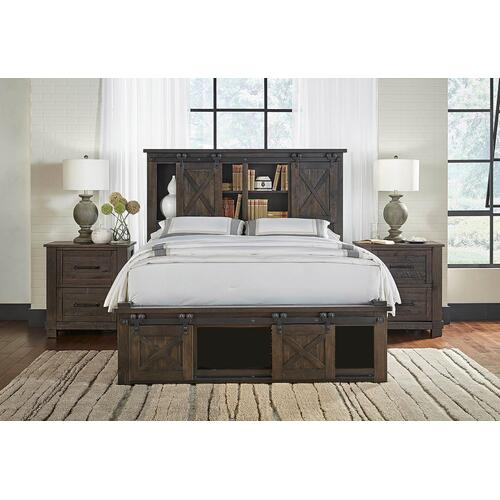 A America - Sun Valley Queen Storage Bed