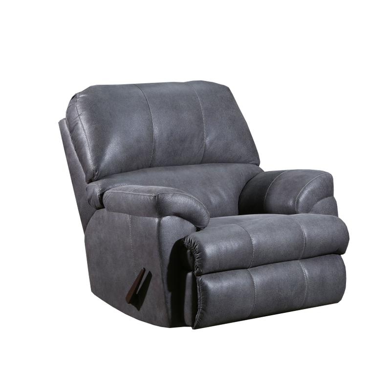 View Product - Montego Rocker Recliner in Expedition Shadow