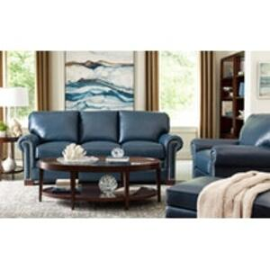 Craftmaster Furniture - Italian Leather Loveseat