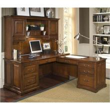 Cantata L Desk & Hutch