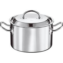 Rosle Stainless Steel High Casserole Multiply, 6.3-Inches