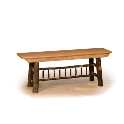 Brage Rustic Collection - Hickory Farm Bench