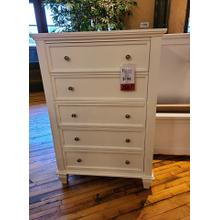 CLEARANCE Sandy Beach 5 Drawer Chest