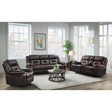 Engage Chocolate PWR 3PC Set: Sofa, Loveseat & Recliner (59935)