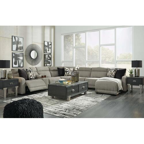 Colleyville Power Reclining Chaise Sectional