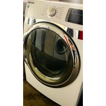 USED- 7.5 cu. ft King-size Capacity Electric Front-Load Dryer (White)- FLDRYE27W-U  SERIAL #92