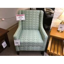 "Jofran ""Josie Mint"" Accent Chair FD 26""W-30""D-36""H"