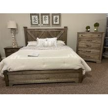 See Details - Double X-Back King Bedroom Group with Dresser, Chest and Nightstand