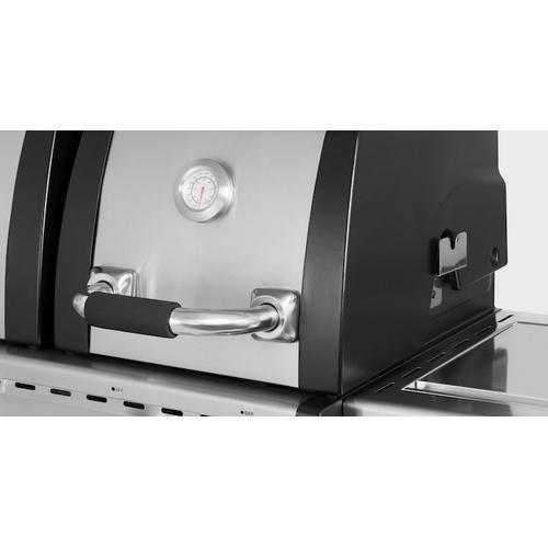 Char Broil - Royal Gourmet® MG6001-R 6-Burner Gas Grill, Side Burner, Infrared Burner, Stainless Steel