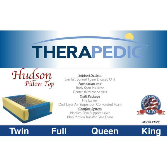 Hudson - Pillow Top