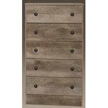 Manslough Oak 5 Drawer Chest