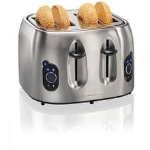 Hamilton Beach 24702 Digital 4-slice Toaster, Brushed Stainless