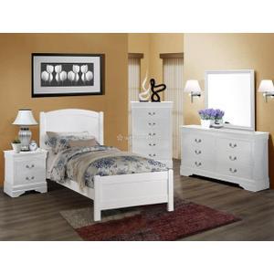 Crown Mark B5006 Helene Twin Bedroom Group